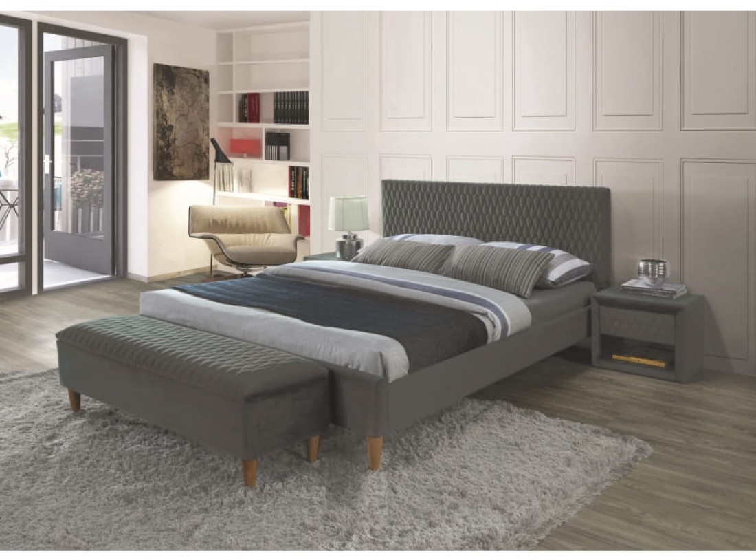 """Кровать """"Azurro Velvet"""""""