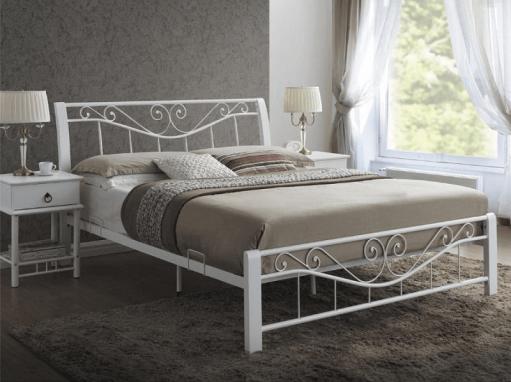"""Кровать """"Parma"""" белая"""